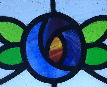 Stained glass restoration and re-use Aberdeenshire