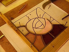 Huntly, Aberdeen, Scotland, stained glass courses