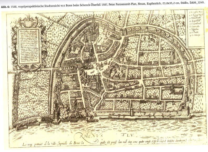 Stadtplan 1588
