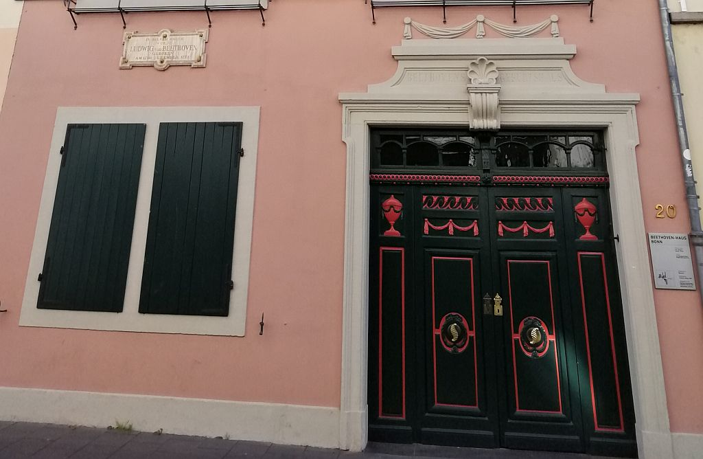 Beethovenhaus Entrance