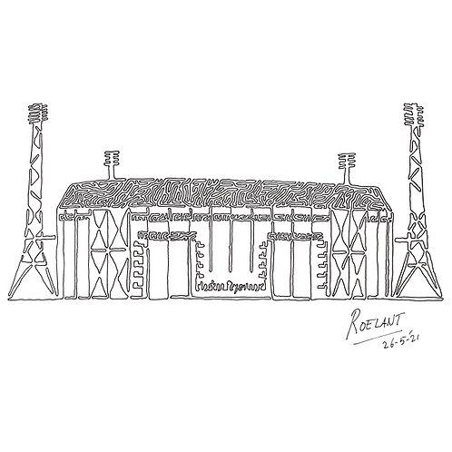 Stadion Feyenoord 'De Kuip' te Rotterdam