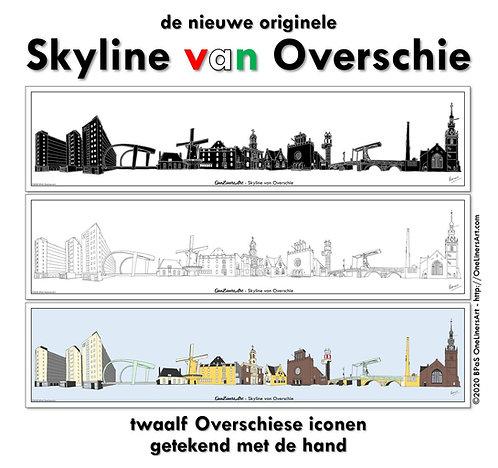 Skyline van Overschie