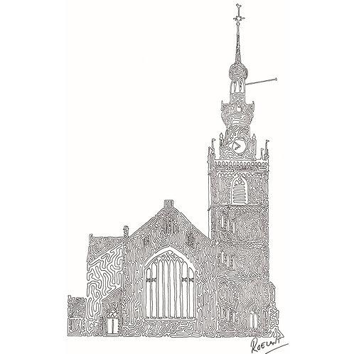 De Grote Kerk te Overschie