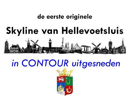 Skyline van Hellevoetsluis - CONTOUR