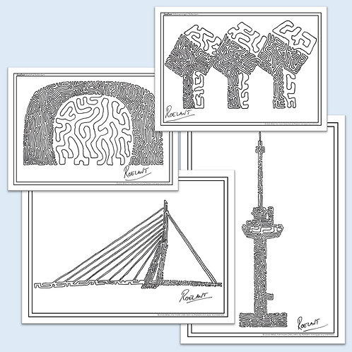 SET: De Rotterdam Collectie - 4 OneLiners!