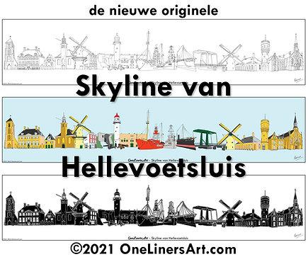 Skyline van Hellevoetsluis