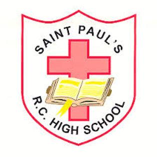 St Paul's R.C. High School Tie