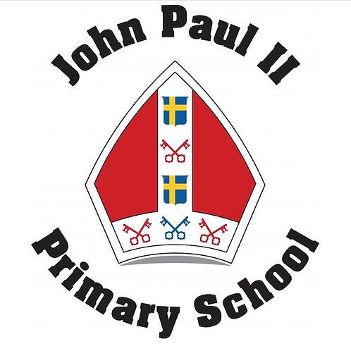 St John Paul II Primary Knee High Socks With Bows