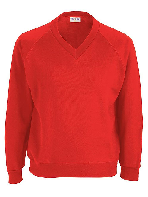 Crookfur Primary Sweatshirt V Neck