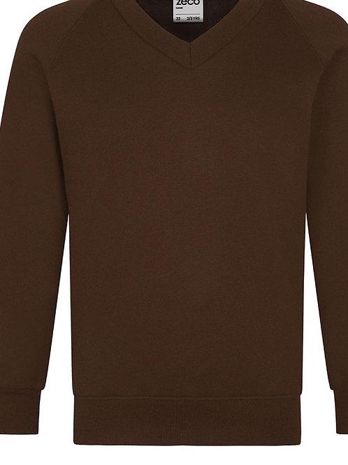 St Mirin's Primary Sweatshirt V Neck