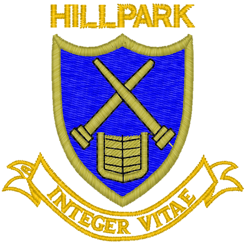 Hillpark Secondary Senior School Tie