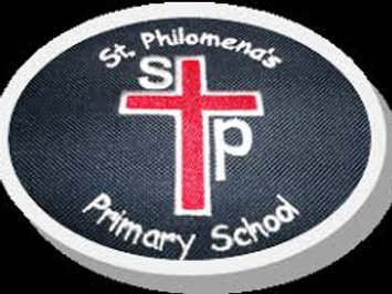 St Philomenas Primary Knee High Socks With Bow