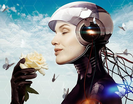 female-robot-flower-woman-against-sky-15