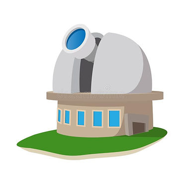 observatory-station-cartoon-icon-white-b