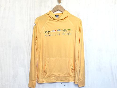 Set The Hook UPF 50 Sunproof® Hooded Long Sleeve Shirt
