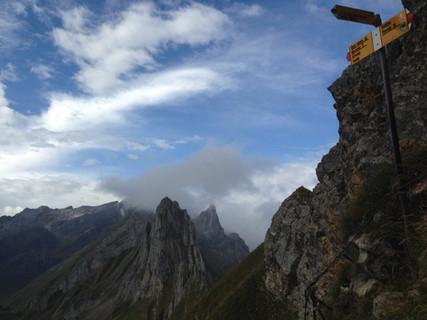 Eindrucksvolle Voralpen - Alpstein
