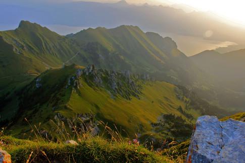 Spectaculaires Préalpes - région de Taney