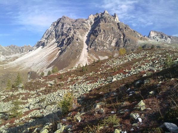 Alpes valaisannes - magnifique val d'Anniviers