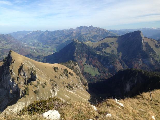 Spectaculaires Préalpes - région de Jaman