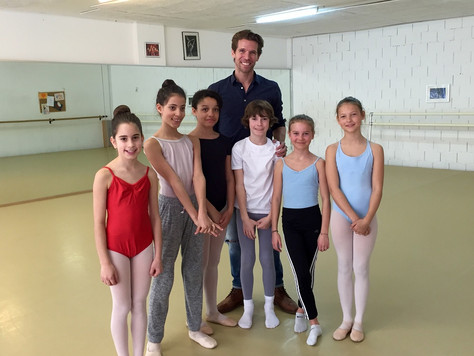 """L'audition """"Dance / études"""" pour la rentrée scolaire 2016-2017 a eu lieu le 20 mars 20"""