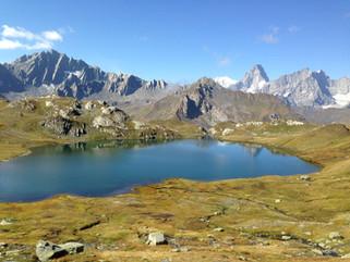 Alpes valaisannes - région du Gd-St-Bernard