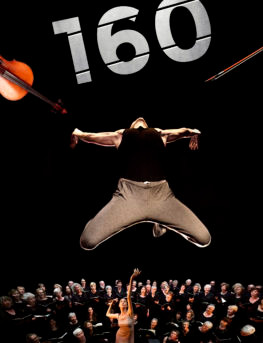 """Spectacle """"160"""" les 1er et 2 juin 2018 à Montreux"""