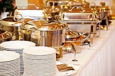 buffet garden party repas diner mariage communion baptême cocktail