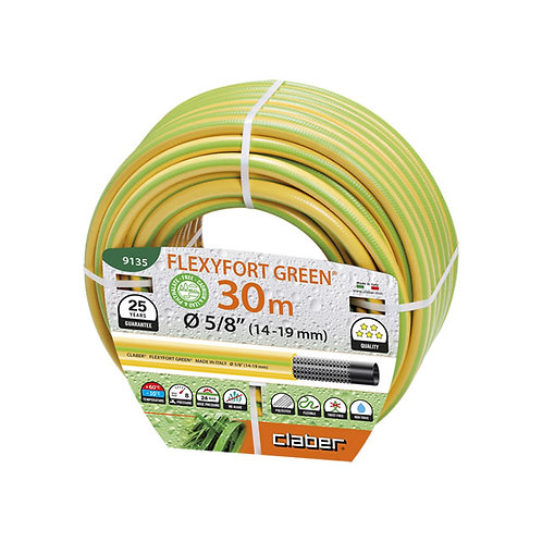 "CLABER 9135  FEXYFORT GREEN Ø 5/8"" (14-19 mm) M 30"