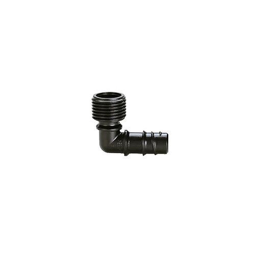 """CLABER 91082  GOMITO FILETTO1/2"""" (15 - 21 mm)"""