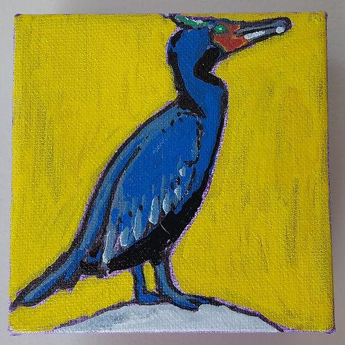 """Double-crested Cormorant"" by Jaime Lee Lightle"