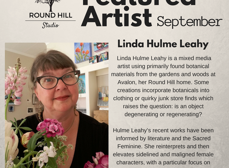 Another Artist in September: Linda Hulme-Leahy
