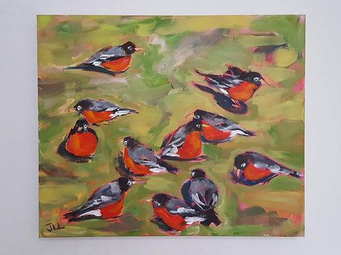 Robin Social by Jaime Lee Lightle