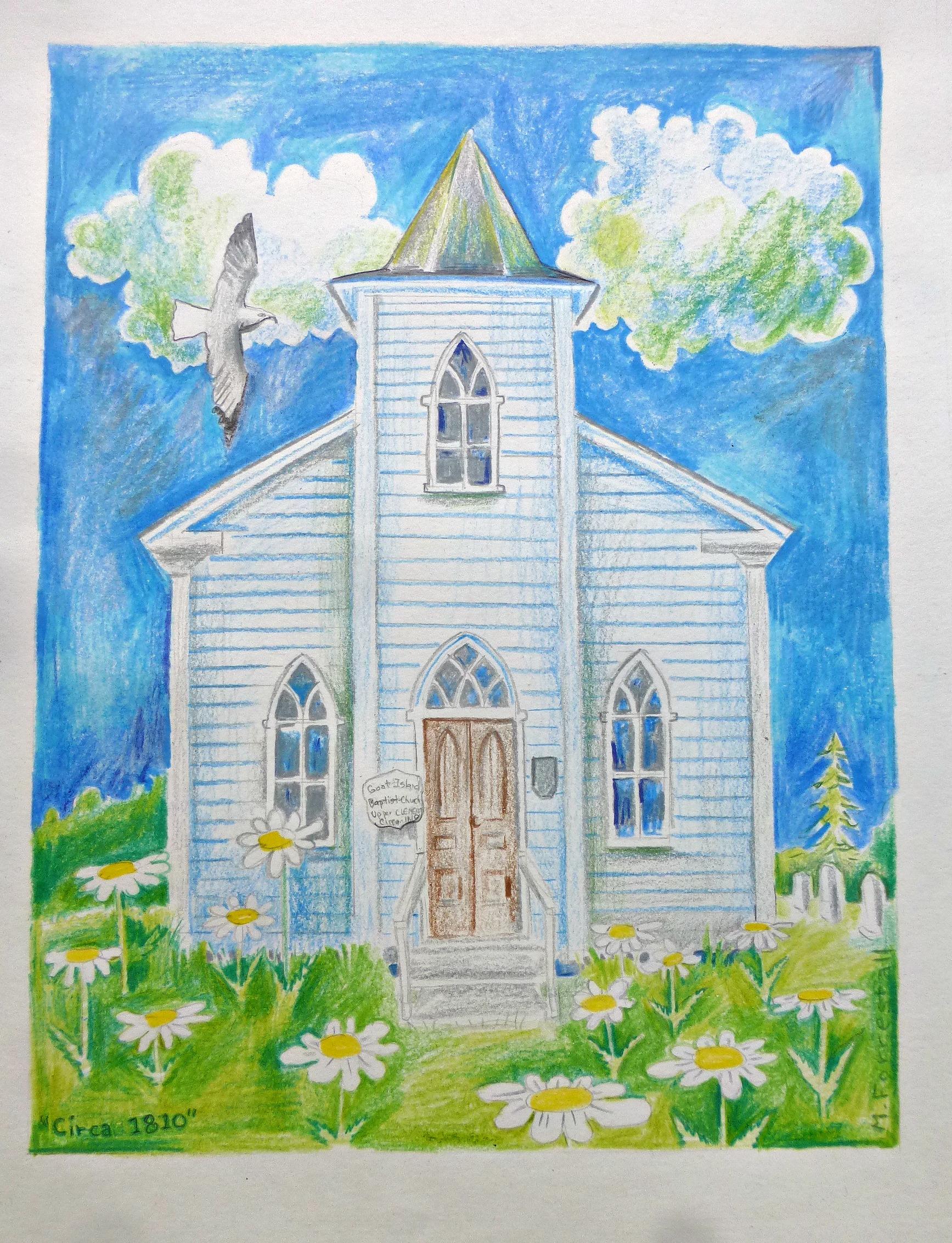 NOVA CHURCH Goat Island SHARP