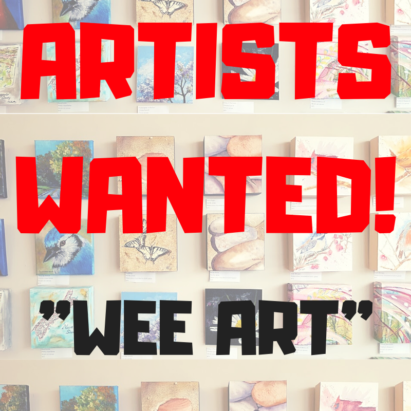 ARTISTS WANTED wee! webonly