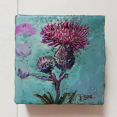 Thistles by Lisa-Maj Roos