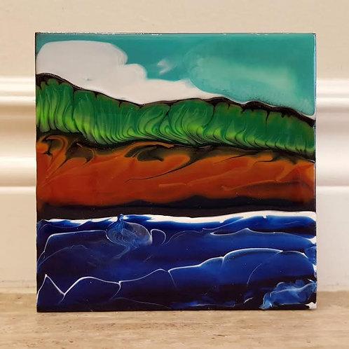 Fundy Shoreline #22 by James C E Lightle