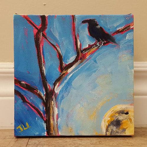 Harvest Moon Perch by Jaime Lee Lightle