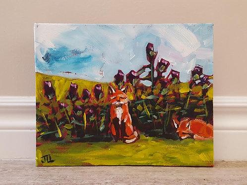 Field of Thistles by Jaime Lee Lightle