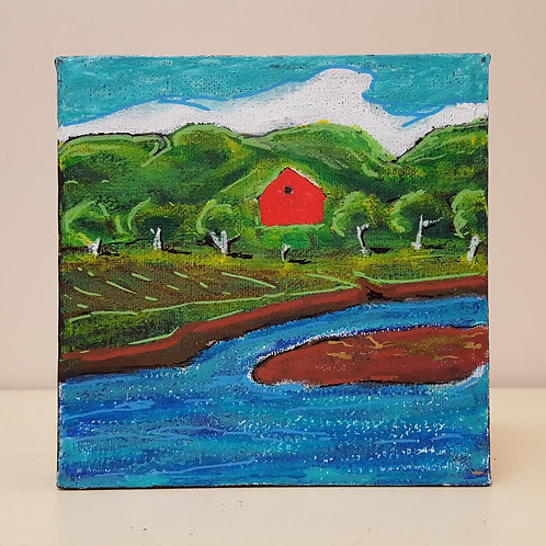 Old Red Barn by James C E Lightle