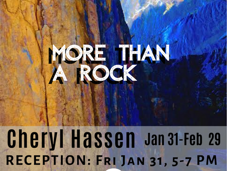 """Hassen: """"More than a Rock"""""""