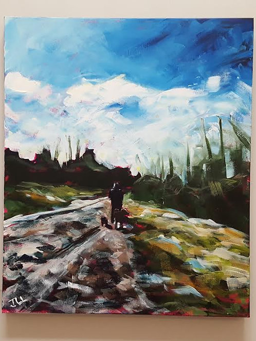 Dog Walk by Jaime Lee Lightle