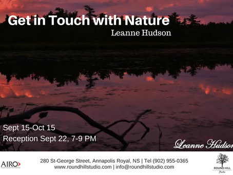 Leanne Hudson is with Nature