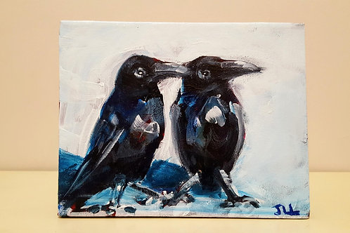 Two Crows by Jaime Lee Lightle