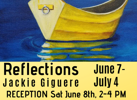 """Jackie Giguere's """"Reflections"""""""