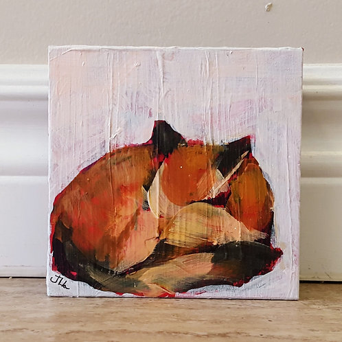 Sleeping Fox by Jaime Lee Lightle
