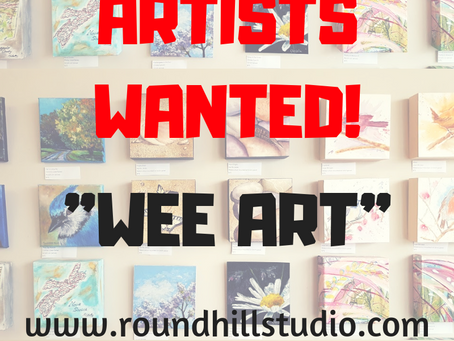 "Call for ""WEE ART"""