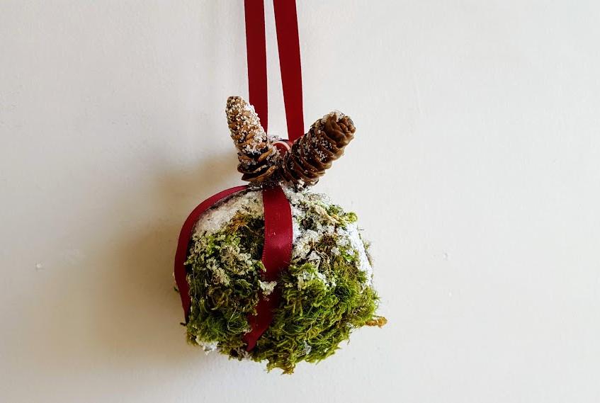 Moss Ornament