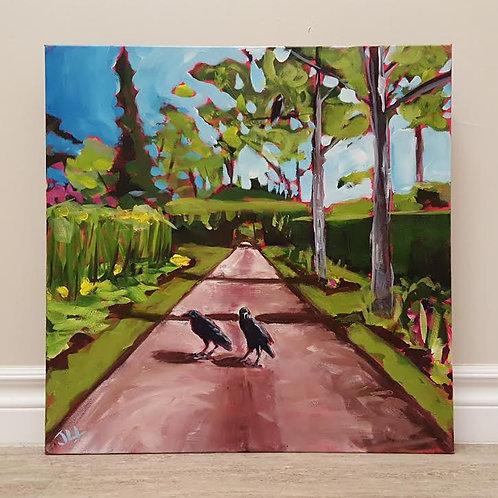 Stroll Though the Garden by Jaime Lee Lightle