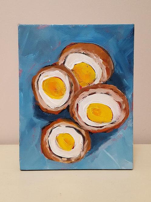 Scotch Eggs by Jaime Lee Lightle