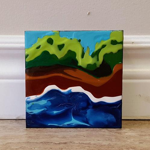Green on Shore by James C E Lightle